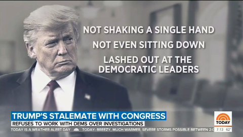 VOD - Nets Decry 'Angry,' 'Fuming' Trump, Hail Pelosi as 'Master Strategist'