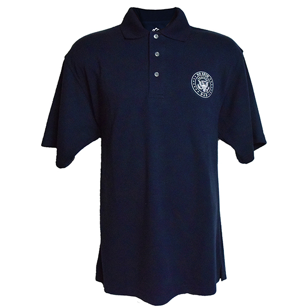 No Spin Dad Moisture Wicking Polo Shirt Large