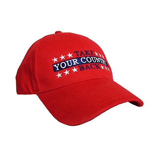 Take Your Country Back Structured Baseball Cap
