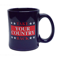 Take Your Country Back Diner Coffee Mug